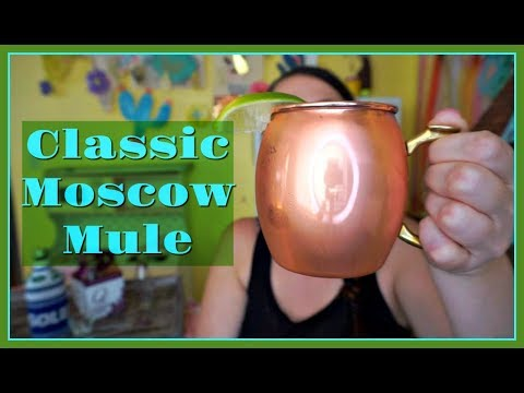 Classic Moscow Mule | Pinterest Drink #154