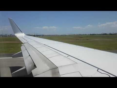 Virgin Australia Boeing 737-800 Mackay to Brisbane Take Off