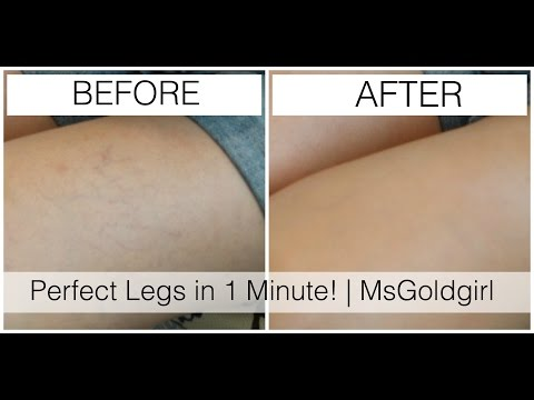 Perfect Legs in 1 Minute | MsGoldgirl