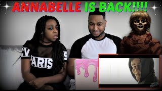 "RackaRacka ""CURSED ANNABELLE DOLL HAUNTING"" REACTION!!!"