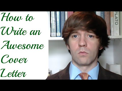 How to Write an Awesome Cover Letter: A Simple Guide from an English Professor