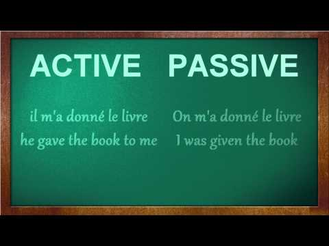 The Passive Voice #2 - Indirect Objects