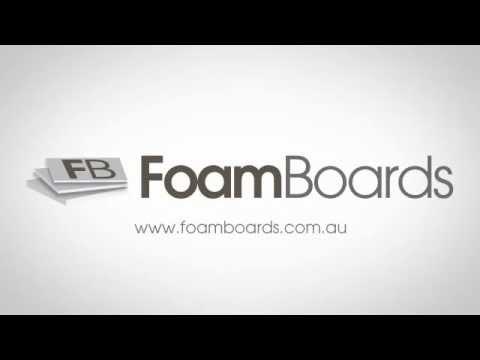 Foam Boards sheets cut to size foamcore boards