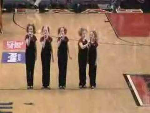 The Cactus Cuties sing The National Anthem Original Video