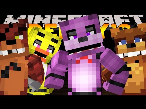 Minecraft - FIVE NIGHTS AT FREDDY'S ADVENTURE MAP!