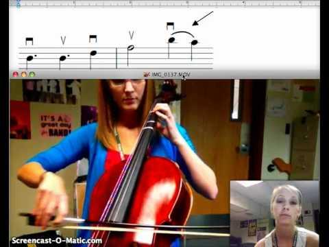 Slurs and Ties on String Instruments
