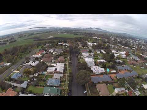 Mudgee from the air