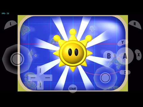 GC4IOS- gamecube for ios- Super Mario Sunshine (intro Test) dolphin emulator for ios (Alpha)