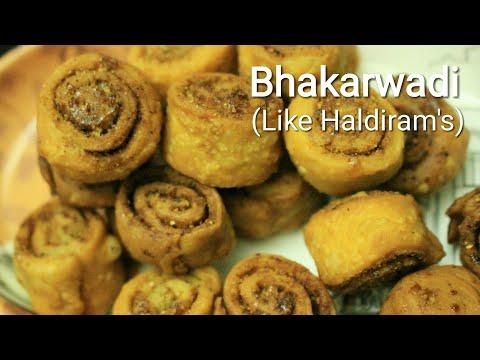 Bhakarwadi recipe - Bhakarwadi - Indian snacks recipe - Snacks recipes