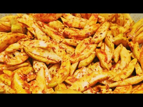 MANGO CARRY PICKLE RECIPE || Ready In One Hour without flame || Sanobar's Kitchen