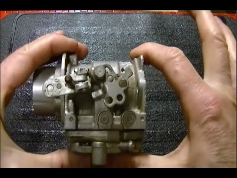 Test Prep (4) - The Carburetor Venturi and its Size Relationship with the Carburetor Intake Opening