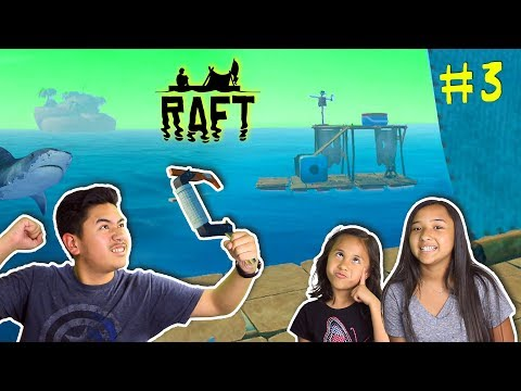 UNIDENTIFIED RAFT SPOTTED!!! | RAFT Official Release Gameplay #3