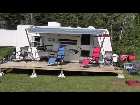 How to build a moveable RV deck