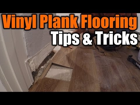 Vinyl Plank Flooring Tips and Tricks | THE HANDYMAN |