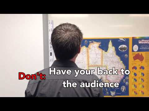 Tips on Giving Oral Presentations