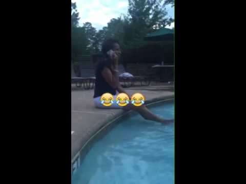 Don't ever get a black woman wet at the pool