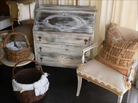 how to paint furniture. ditressed, aged looking patina.