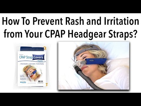 CPAP Strap Covers | How to Prevent Rash and Irritation from Your Headgear | by RespLabs Medical