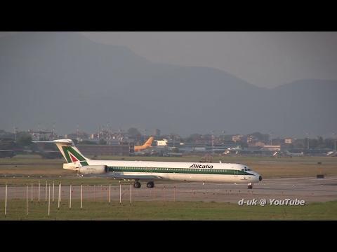 Alitalia MD-80 @ Pisa Airport - All Hail the Mad Dog!