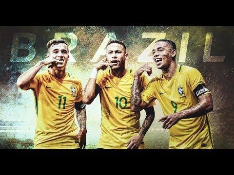 FIFA 18 WORLD CUP w/BRAZIL #1| SAMBA KINGS NEYMAR COUTINHO FIRMINO | LET'S WIN WORLD CUP!