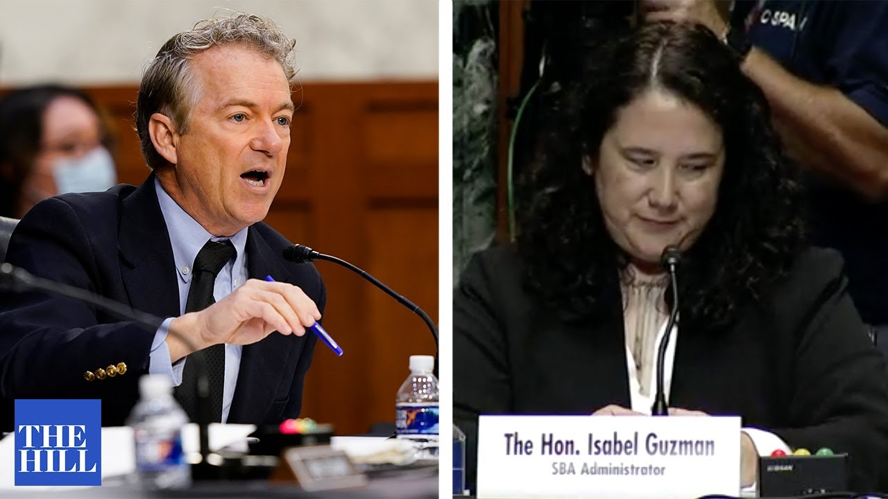 MUST WATCH: Rand Paul SLAMS Biden appointee over planned parenthood: You're HIDING information