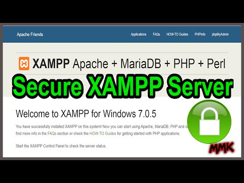 MySQL Set Root Password - Secure XAMPP Server