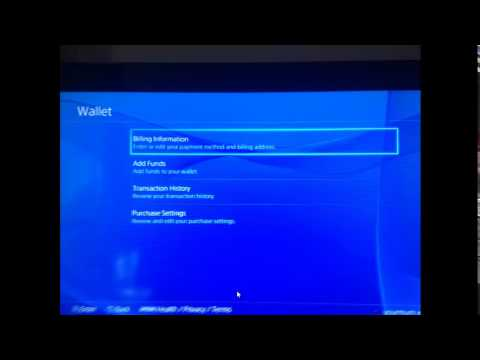 How To Add Remove Credit Card Details On PS4