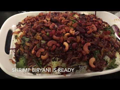 Kerala Style Prawns Biryani / shrimp Biryani / Chemmeen Biriyani