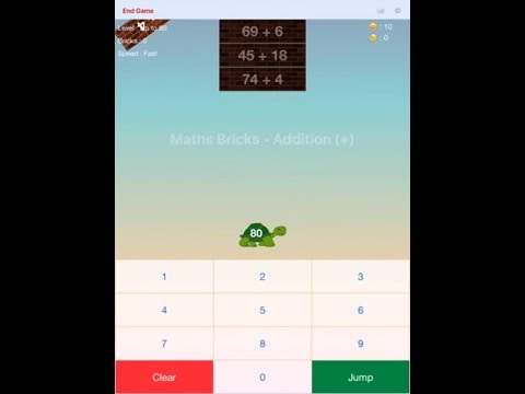 Maths Bricks - Addition App Preview