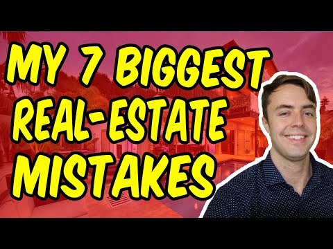 7 Worst Mistakes My First Year In Real-Estate