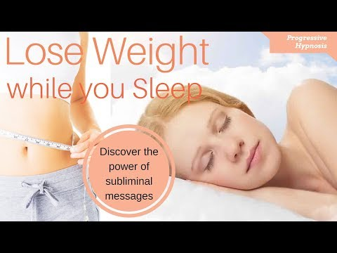 Lose Weight While You Sleep ★ Fast & Easy Weight Loss
