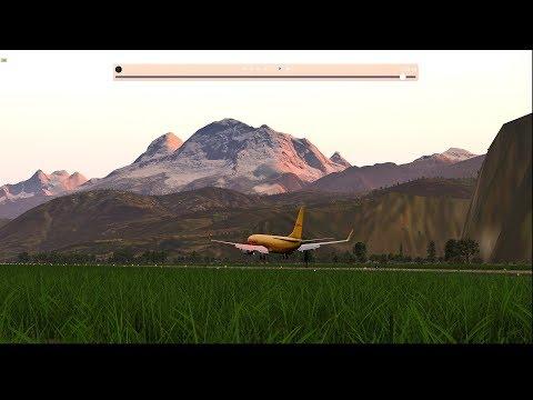 In Peru: Taropoto (SPST) to Huaraz (SPHZ) X-Plane 11