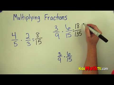 How to multiply fractions with different denominators video