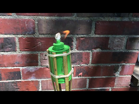 Cheap Ways to Keep the Tiki Torch Burning