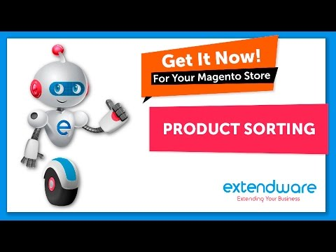 Extendware - Product Sorting- for Magento