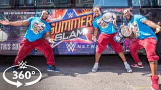 360° VIDEO - The New Day leads a SummerSlam field trip on The Ride