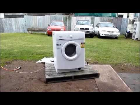 Whirlpool Front Load Washer Vibration Fault