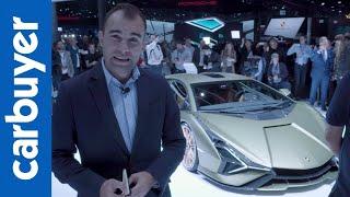 First look at the 808bhp Lamborghini Sian - Frankfurt Motor Show - Carbuyer