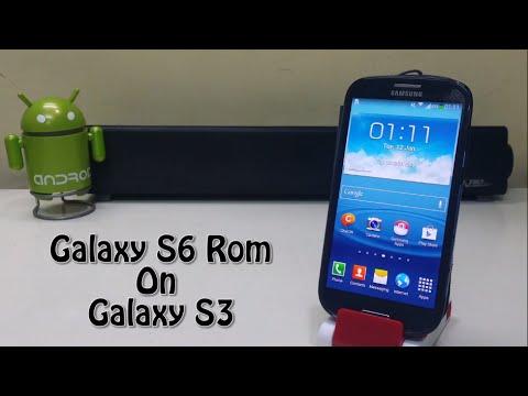 Install Galaxy S6 Rom On Samsung Galaxy S3!