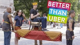 Get a Royal Ride Through the Streets of NYC | PDA with Ben Aaron