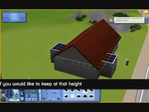 Sims 3 Roof Height Tutorial