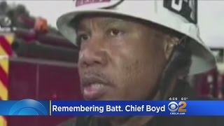 LAFD Mourns Loss Of Battalion Chief Who Died While Driving On Duty