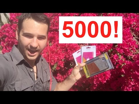 5,000 Subscribers! Giveaways & Thank You - Channel Update