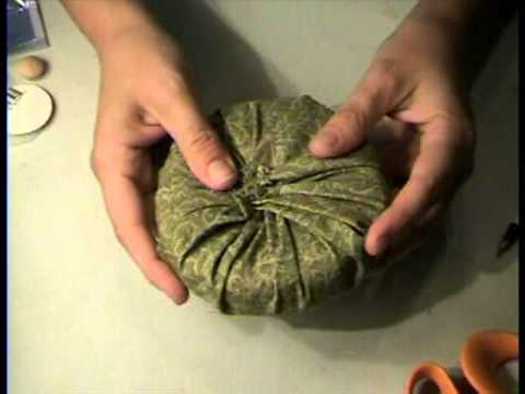 How to Make Miniature Round Sofa for Dollhouse by Garden of Imagination