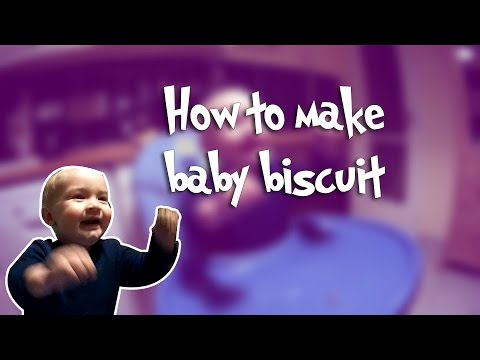 How to make baby biscuit | Daniel tastes