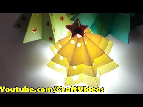 How to make Origami Christmas tree easy