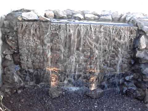Wall waterfall