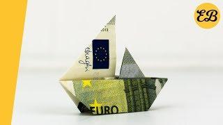 Segelschiff Falten Geldschein Anleitung Videos Ytubetv