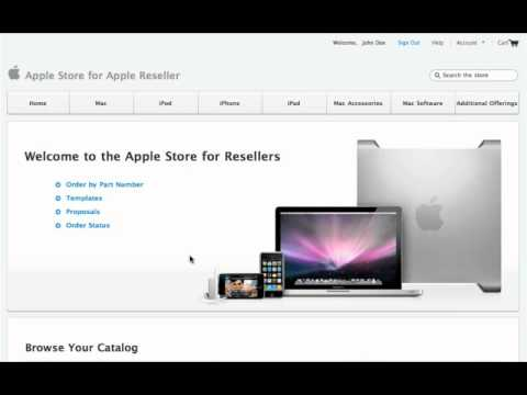 Apple Store for Resellers