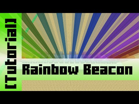 Rainbow Beacon Color Changer (18 Colors) [Tutorial] Minecraft 1.10